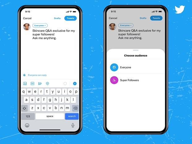 Twitter launches subscription-based feature 'super follows' for iOS users