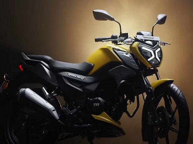 TVS Motor Company launches new motorcycle 'TVS Raider' in 125cc segment