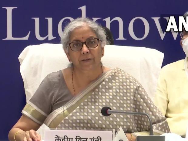 Finance Minister Nirmala Sitharaman. Photo: ANI