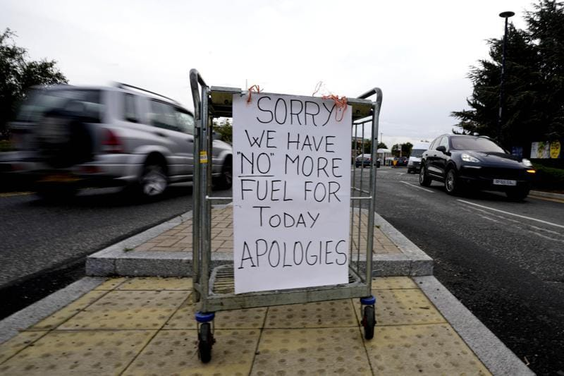 Petroleum Product Shortage: Shortage of petroleum products in Britain