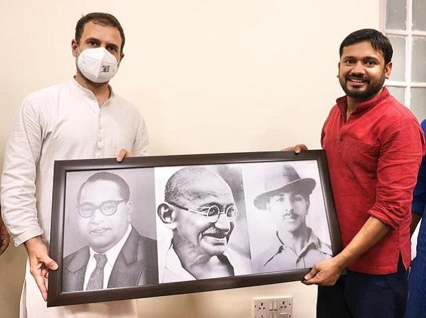 Kanhaiya Kumar, Rahul Gandhi