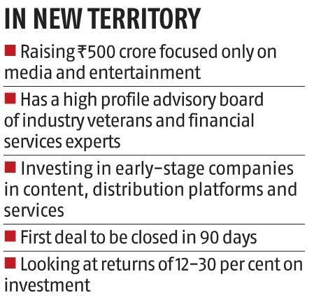 , Media & entertainment space gets new PE fund; IMEF raises Rs 500 crore, The World Live Breaking News Coverage & Updates IN ENGLISH
