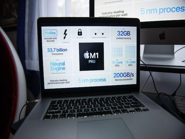 Apple drops Intel chips in biggest MacBook Pro overhaul in years