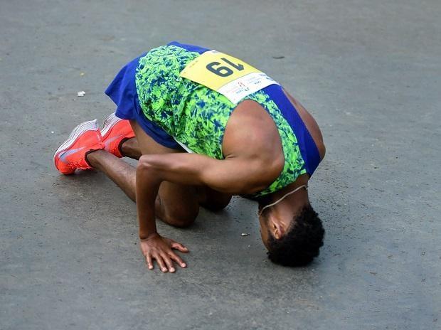 Tata Mumbai Marathon: Ethiopian Hurisa creates course record