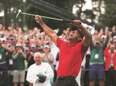 Tiger Woods is back, and that's good news for other troubled brands