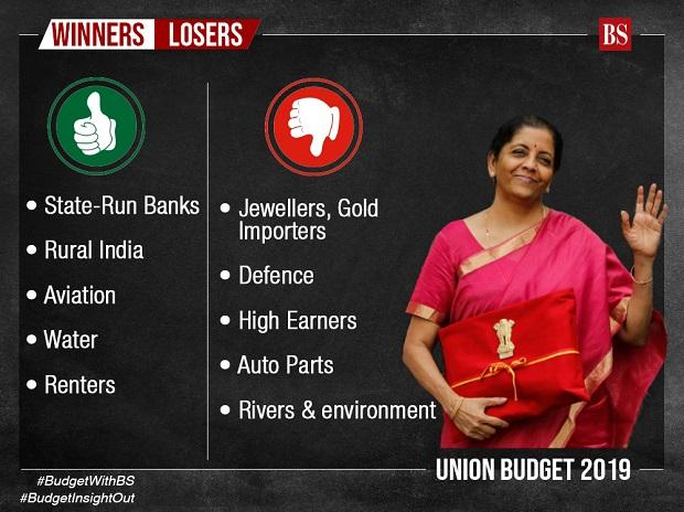 Budget 2019: winners and losers