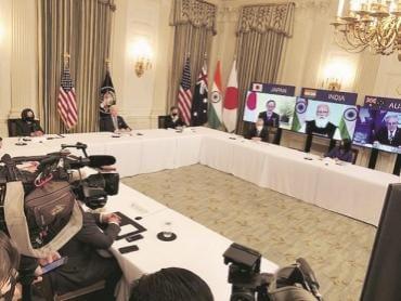 quad, india, foreign policy, japan, australia, US, india, biden, modi, Scott Morrison, Yoshihide Suga,