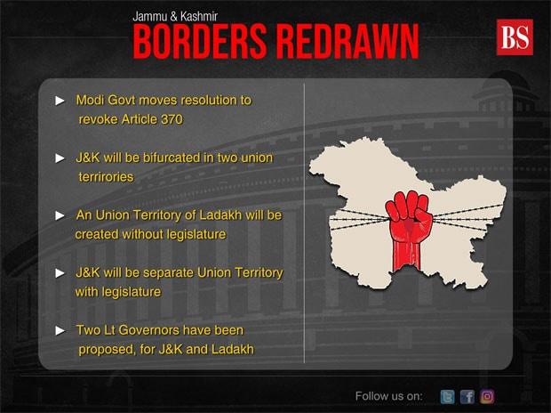 Highlights: RS passes Jammu and Kashmir Reorganisation Bill