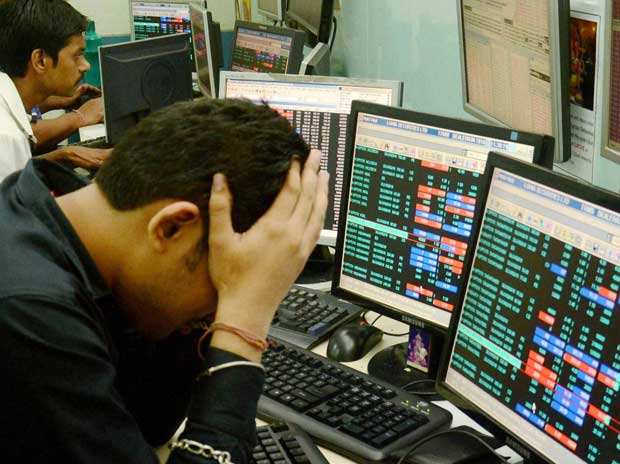 MARKET WRAP: Sensex ends 224 pts lower on global cues, fall in bank stocks