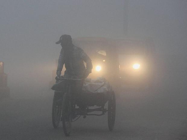 Delhi fog, fog, air pollution