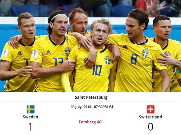 Sweden go into the last 8