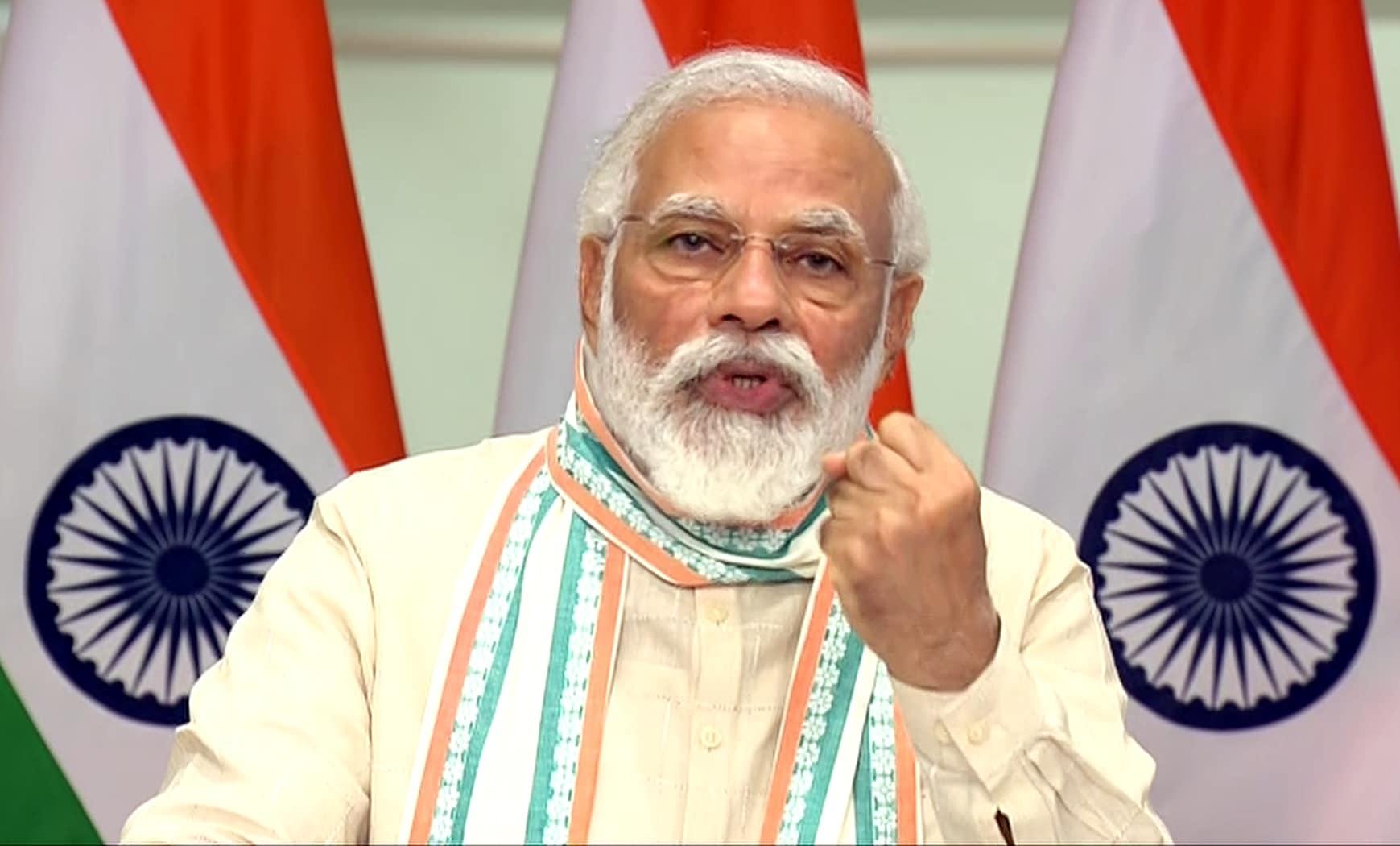 PM Narendra Modi extends free foodgrains scheme for poor till Nov-end