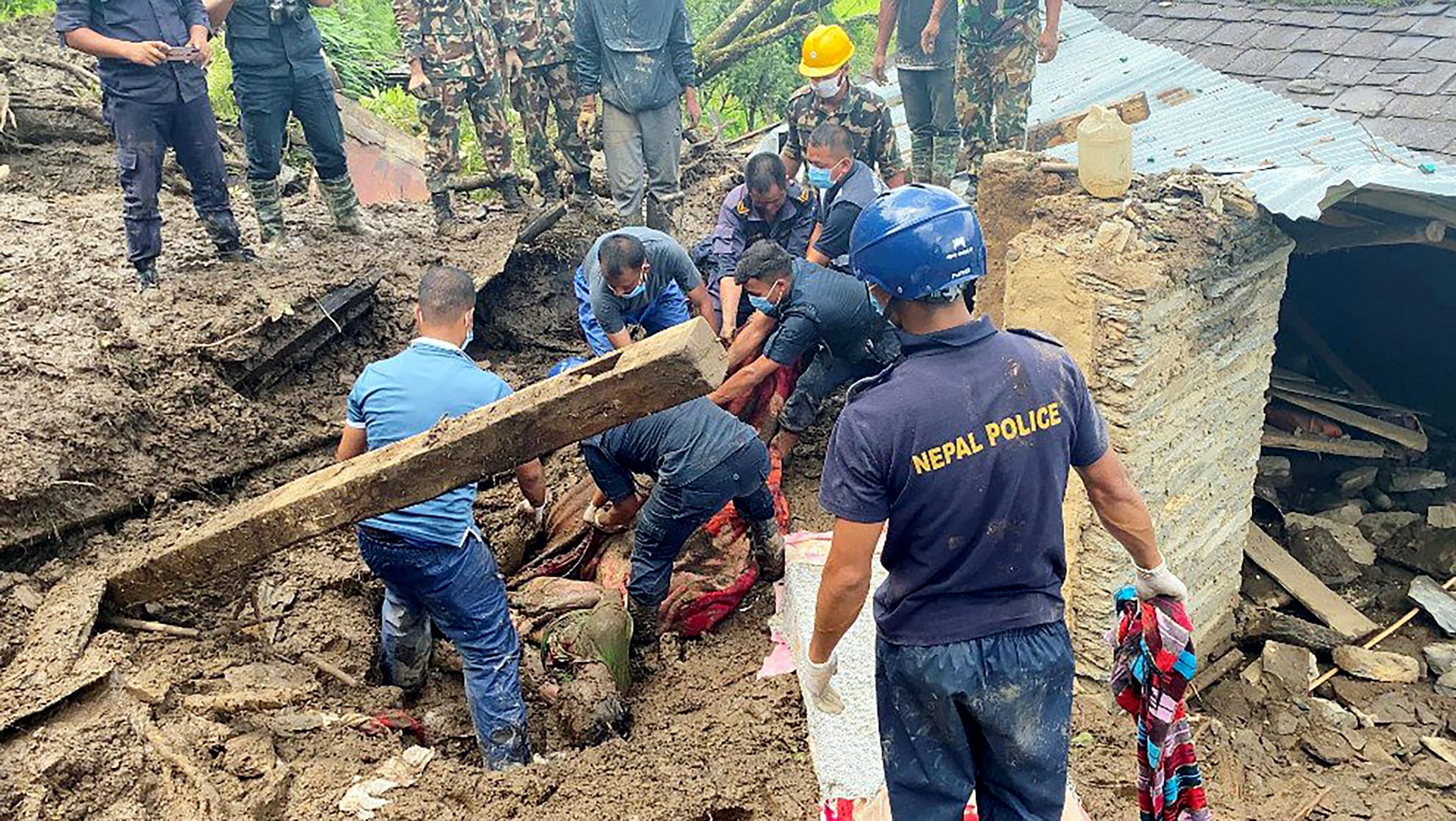 At least 60 people killed, 41 missing following flood and landslides in the past 4 days in various parts of Nepal, due to heavy rainfall in the region. Myagdi district of western Nepal is worst affected with 27 deaths, where search and rescue operat