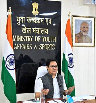 Union Minister of Sports and Youth Affairs Kiren Rijiju