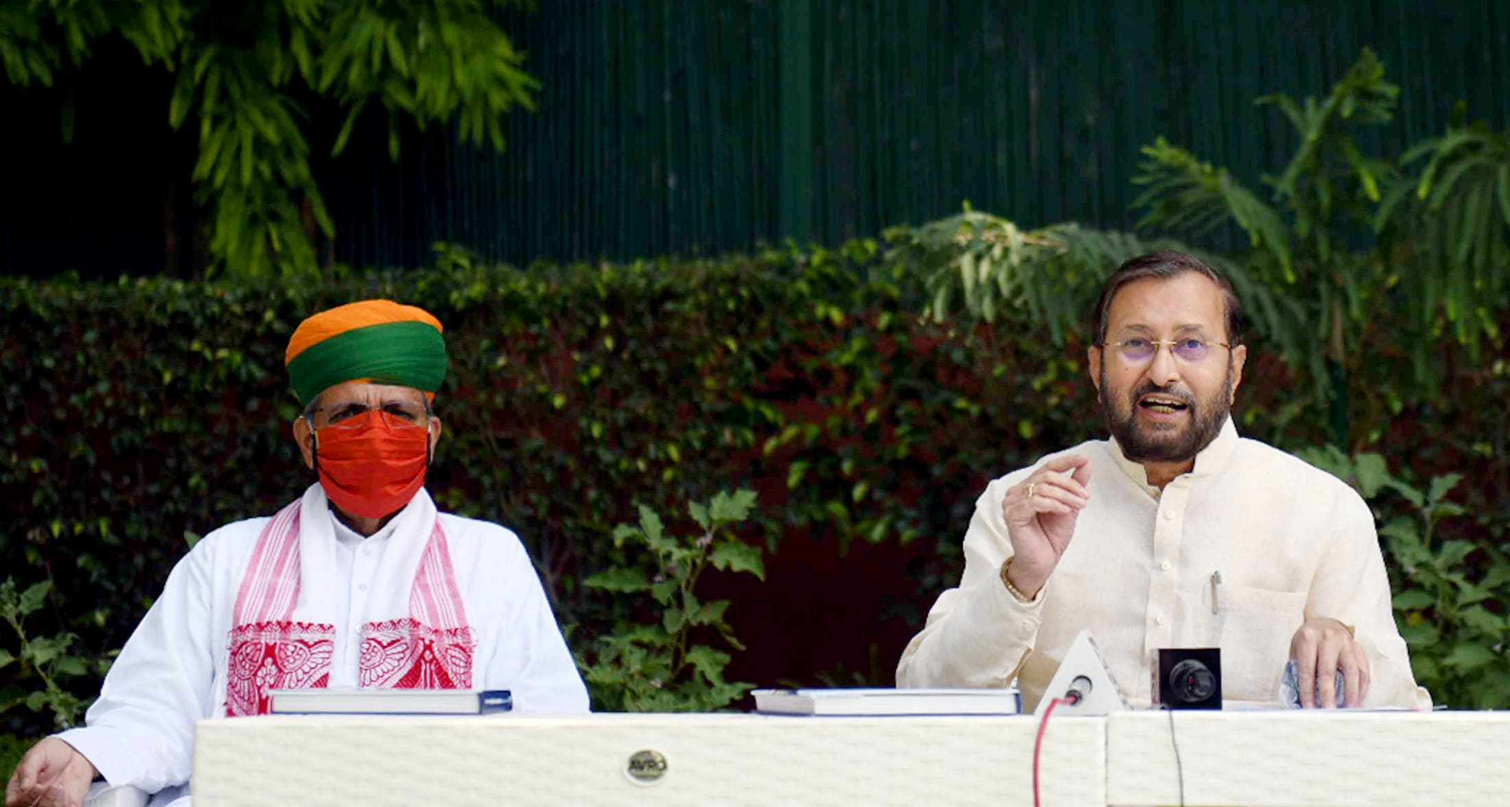 Union Minister1vironment, Forest & Climate Change, Information & Broadcasting and Heavy Industries and Public Enterprise, Prakash Javadekar