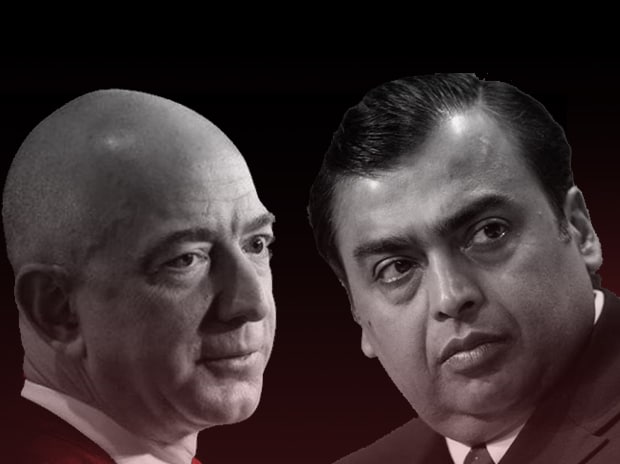 Amazon, Reliance, Mukesh Ambani, Jeff Bezos