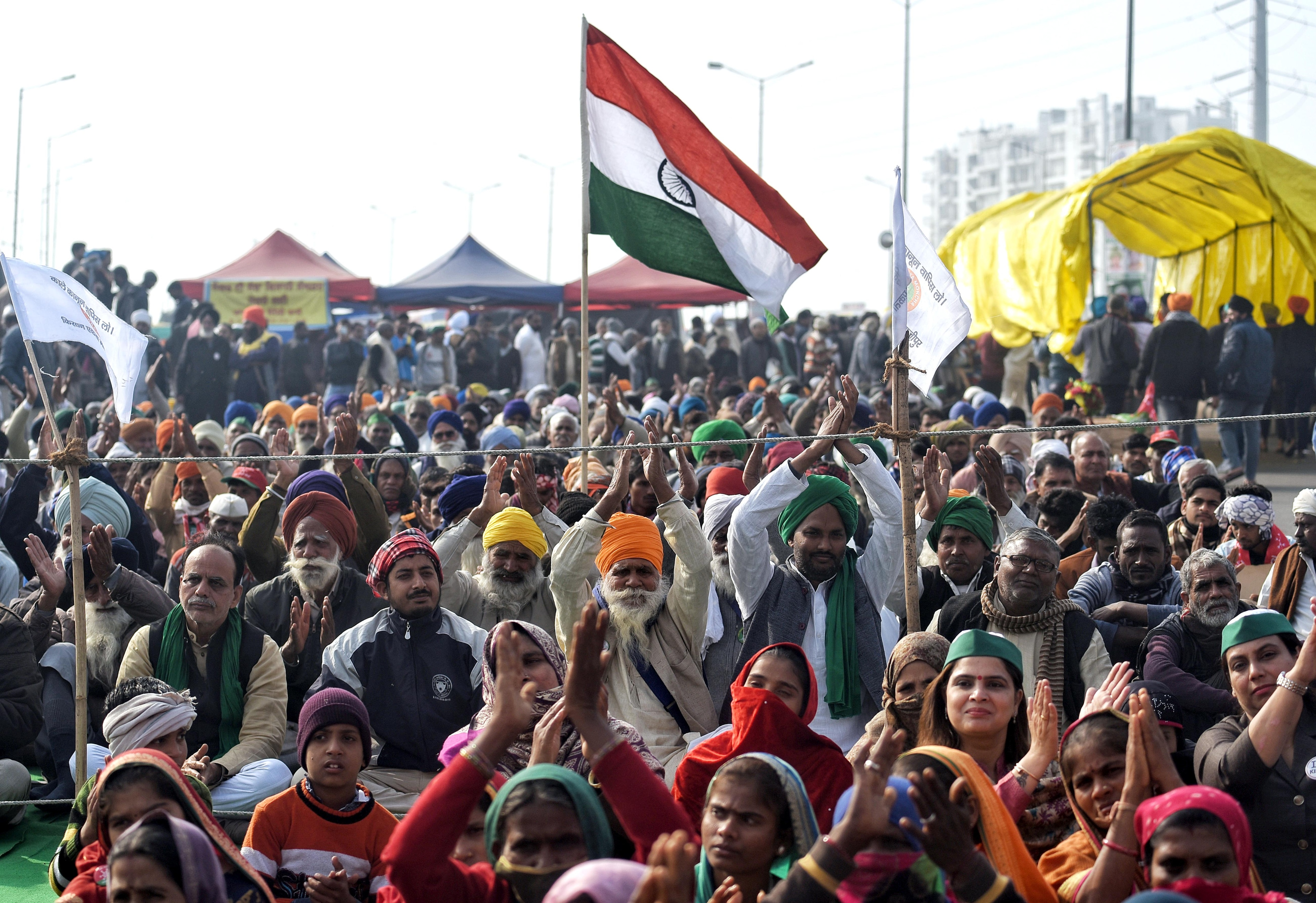 Ahead of tractor rally, farmers announce march to Parliament on Budget Day