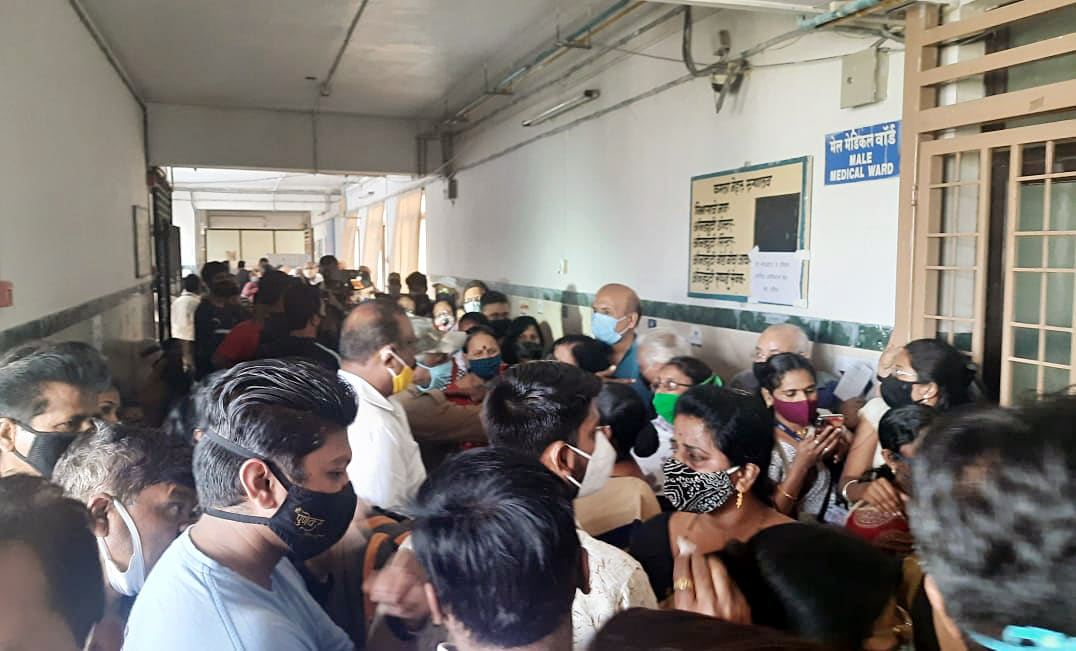 SOPs outlined for vaccination of healthcare workers, frontline staff - Business Standard