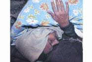 Kejriwal during his sit-in protest