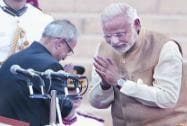 Modi: Oath taking ceremony