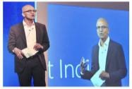 Nadella in India