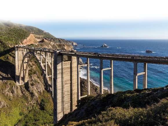 California, Road Trip, Highway 1, Morro Rock, Morro Bay, Hearst Castle, Santa Barbara