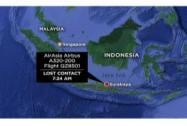 AirAsia flight from Indonesia missing