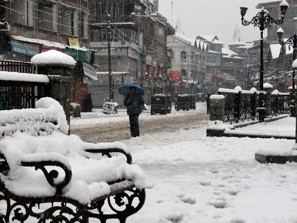 Kashmir, Snowfall, Srinagar, Valley