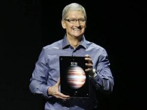 Apple unveils big iPad, phone with 3D touch