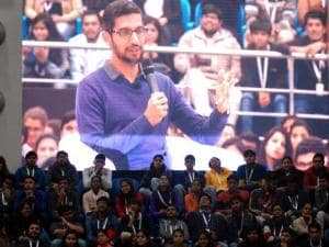 Ask Sundar: Google CEO at SRCC