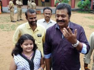 Assembly elections: Celebrities cast vote
