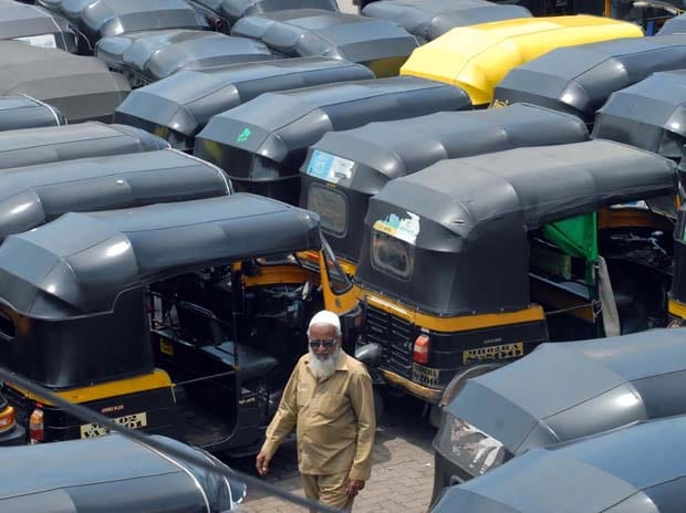 Strike, Auto-rickshaw, Mumbai, Commuters