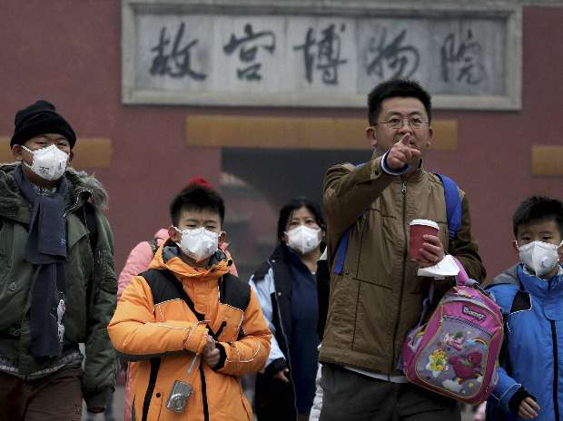 Pollution, Beijing, Tiananmen, Mask