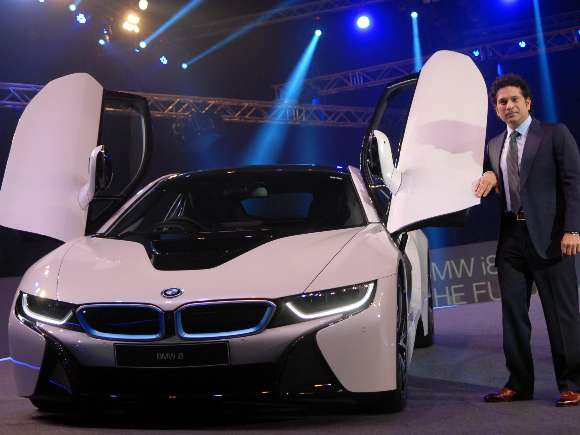 BMW, Sachin Tendulkar, Philipp Von Sahr, Hybrid vehicle