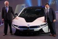 BMW launches i8 hybrid electric car