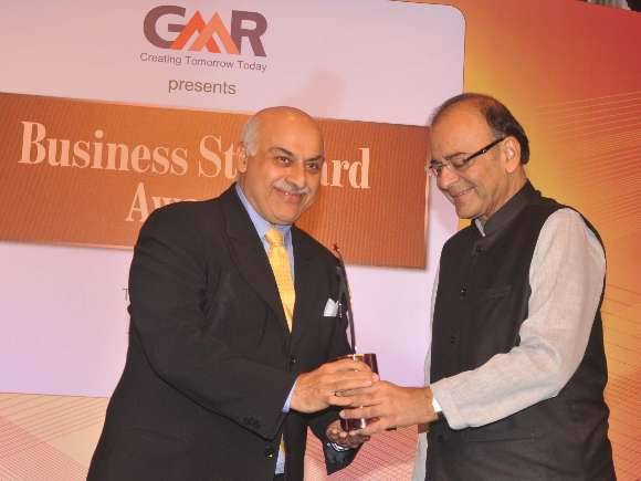 C P Gurnani, Arun Jaitley, Business Standard, Awards