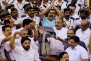 Kerala Budget turns chaotic