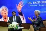 Christine Lagarde's visit to India