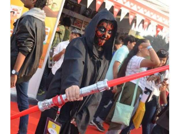 Comic Con, Delhi, Joker, Harry Potter