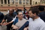 Congress protests suspension of MPs