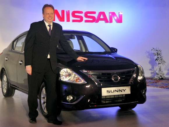 Andy Palmer, Nissan