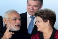 Modi with Brazil's President