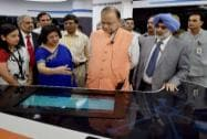 FM during SBI's launch of digital banking initiative