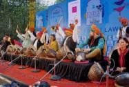Jaipur Literature Festival begins with a heartfelt music