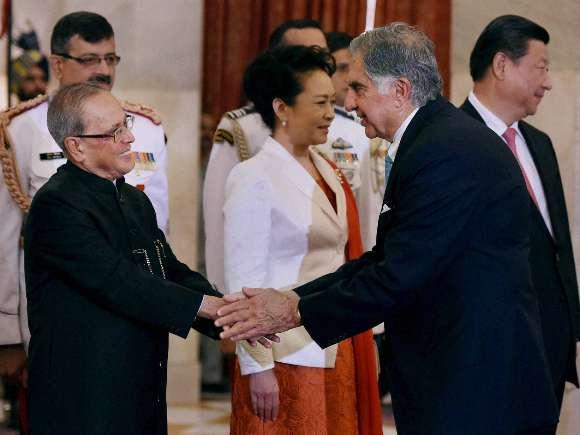 Sonia Gandhi, Rahul Gandhi, Xi Jinping, Manmohan Singh