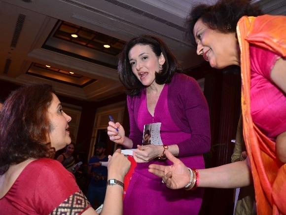 Sheryl Sandberg, FICCI, Facebook, FLO