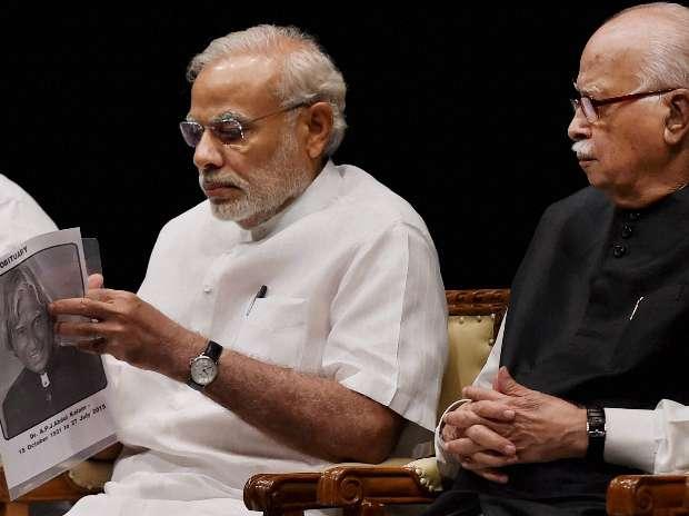 APJ Abdul Kalam, Narendra Modi, LK Advani, Shillong