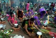 Festive mood: Celebration of Pongal and Makar Sankranti