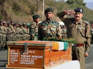 Final journey of Pampore martyr