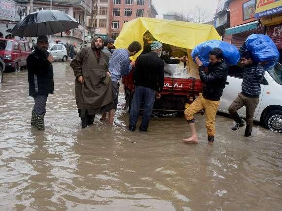 Kashmir, Floods, Srinagar, Anantnag